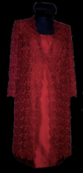 Kleid_rot_Mantel