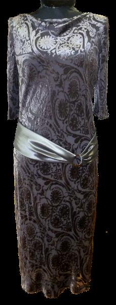 Kleid_schwarz_silber