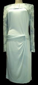 elegantes Kleid mit Raffelement
