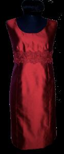 pfiffiges Kleid mit Stickerei